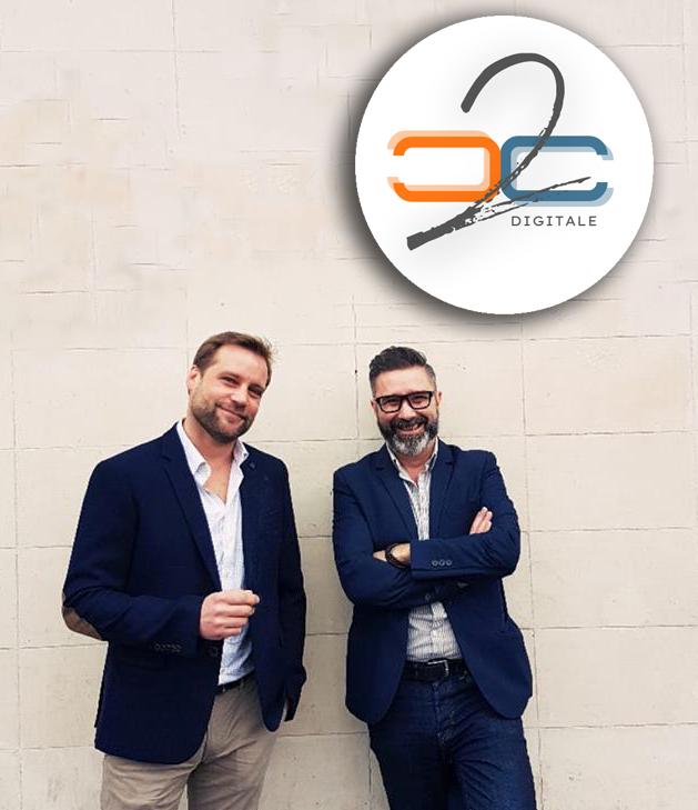 les co-fondateurs de C2C Digitale - création de site web